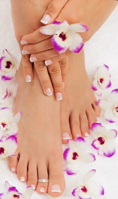 Manicure and Pedicure Valentine's Special for $400.00!