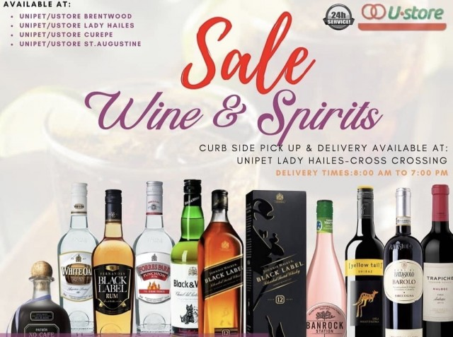 15% Off Wines & Spirits