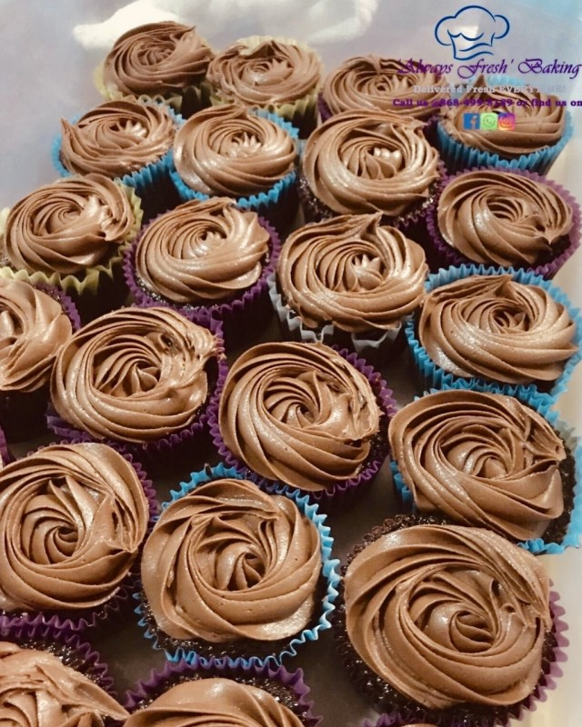 Valentine Special - 1 doz. Chocolate cupcakes $115.00 & 25% Off orders over $600.00