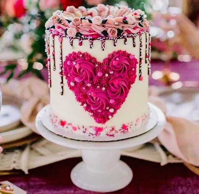 All Valentine's Cakes for $250.00!