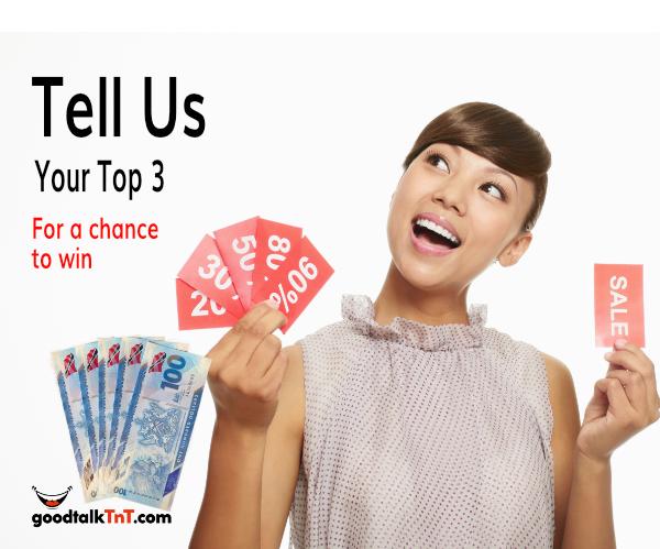 Tell Us & Win Five