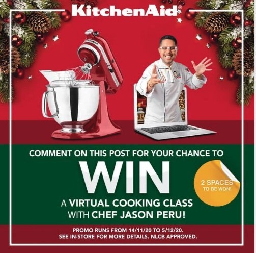 WIN a VIRTUAL Cooking Class!