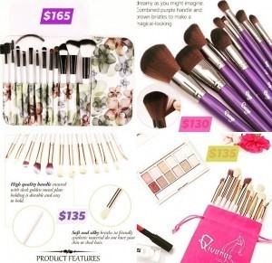 Premier Makeup Brushes!