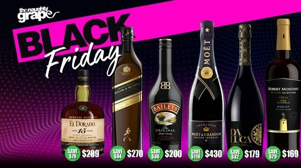 Naughty Grape 3 Day Black Friday Sale
