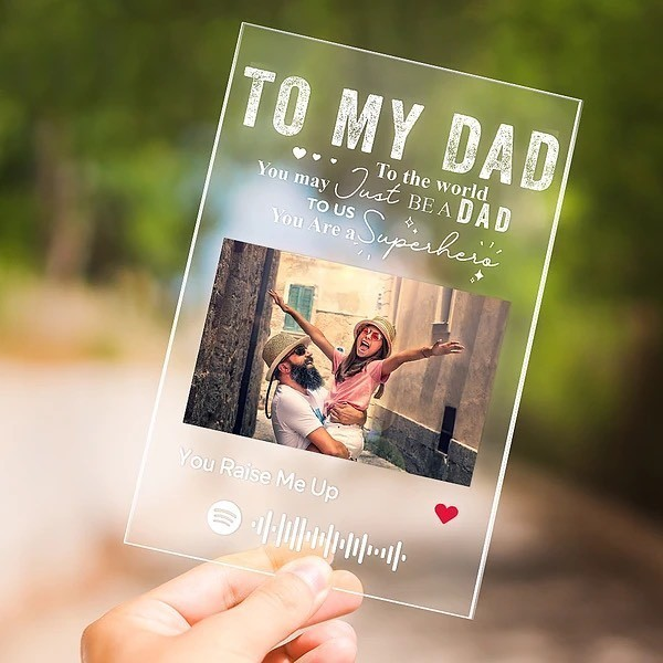 Discounted Acrylic Plaques for Dad!
