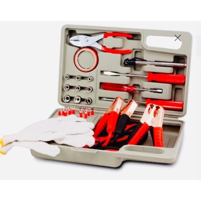 Sale on Roadside Emergency Tool and Auto Kit!