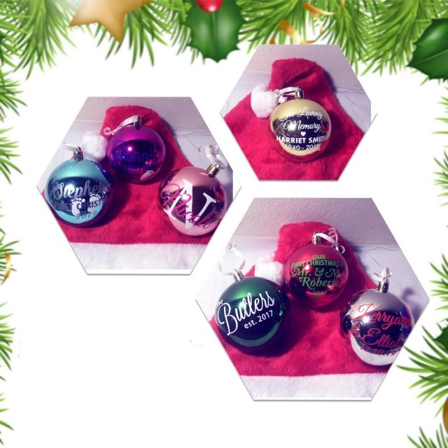 $300 off Personalized Christmas Ornaments