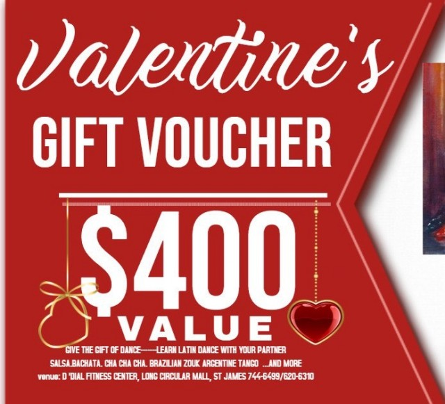 Learn to dance with a Valentine's gift voucher