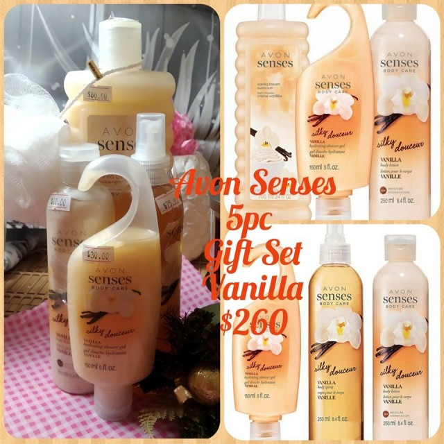 Special on Avon 5 pc Vanilla Gift Set