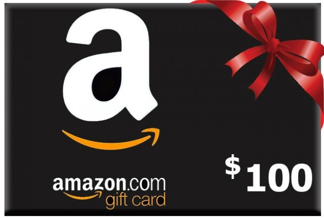 Win a $100 USD Amazon Gift Card