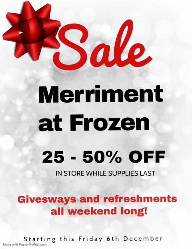 25-50% Off Christmas decorations and more